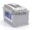 Аккумулятор Bosch S5 Silver Plus 61AH R+600A (EN) (Низкобазовый) 8
