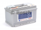 Аккумулятор Bosch S5 Silver Plus 74AH R+750A (EN) (Низкобазовый) 6