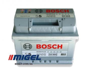 Аккумулятор Bosch S5 Silver Plus 61AH R+600A (EN) (Низкобазовый)