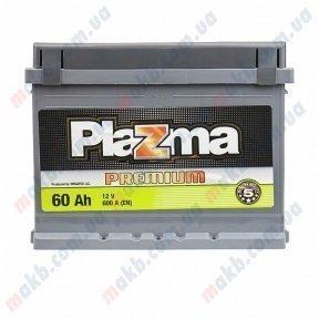 Аккумулятор Plazma Premium 60AH R+ 600A