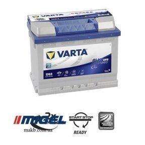 Аккумулятор Varta 60Ah R+ 560A Blue Dynamic EFB (Start-Stop)