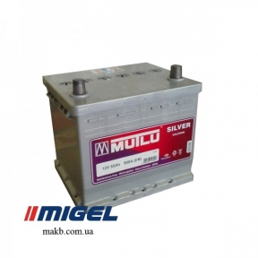 Аккумулятор Mutlu Silver Calcium 55Ah JR+ 500A