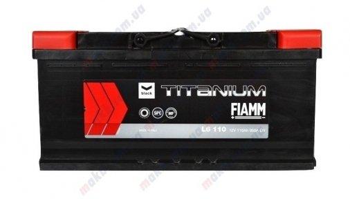 Аккумулятор Fiamm Titanium Black 110Ah R+ 950A