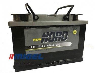 Аккумулятор NORD 77Ah R+ 620A