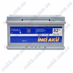 Аккумулятор INCI-AKU Formul A 82Ah R+ 740A (низкобазовый)