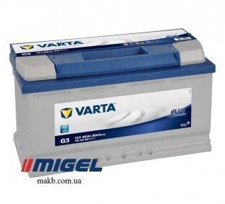Аккумулятор Varta 95Ah R+ 800A Blue Dynamic