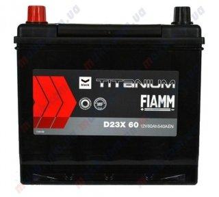 Аккумулятор Fiamm Titanium Black 60Ah JL+ 540A
