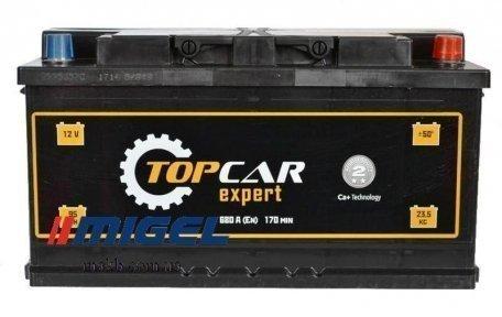 Аккумулятор TOP CAR Expert 75Ah R+ 540A