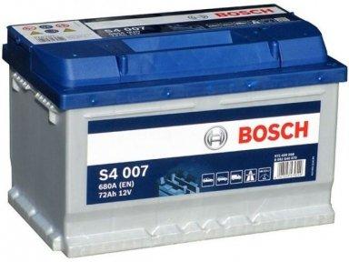 Аккумулятор Bosch S4 Silver 72AH R+680A (EN) (Низкобазовый)