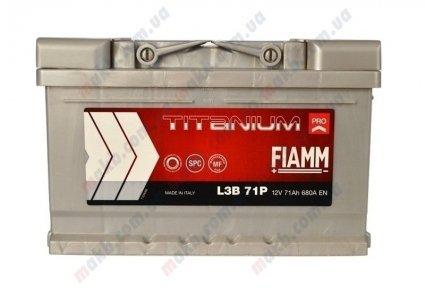 Аккумулятор Fiamm Titanium Pro 71Ah R+ 680A (низкобазовый)