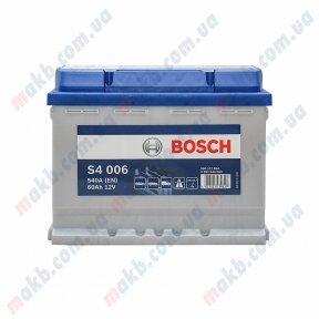 Аккумулятор Bosch S4 Silver 60AH L+540A (EN)