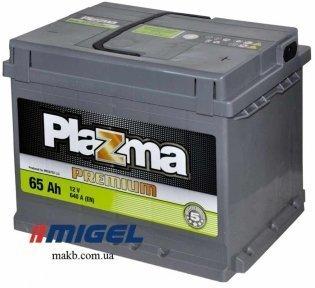 Аккумулятор Plazma Premium 65AH R+ 640A
