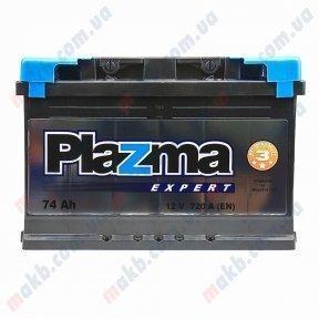 Аккумулятор Plazma Expert 74AH R+ 720A