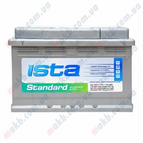 Аккумулятор Ista Standard 77Ah R+ 720A