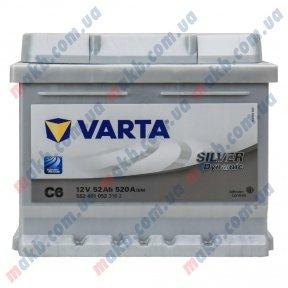 Аккумулятор Varta 52Ah R+ 520A Silver Dynamic (Низкобазовый)