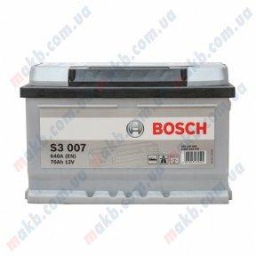 Аккумулятор Bosch S3 70AH R+640A (EN) (Низкобазовый)