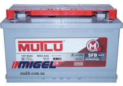 Аккумулятор Mutlu SFB Technology (Ser2) 95AH R+ 900A (низкобазовый)