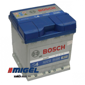 Аккумулятор Bosch S4 42AH R+390A (EN)