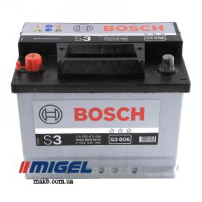 Аккумулятор Bosch S3 56AH L+480A (EN)