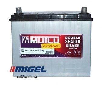 Аккумулятор Mutlu Silver Calcium 80Ah JL+ 660A