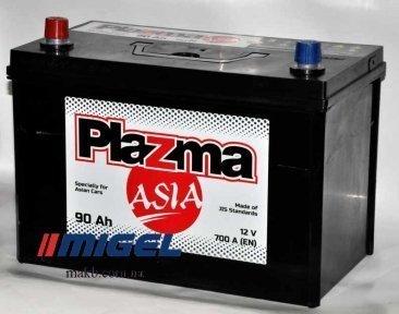Аккумулятор Plazma ASIA 90Ah JL+ 700A