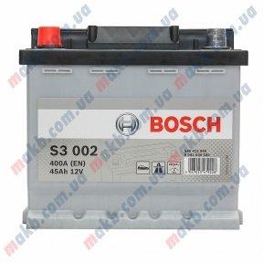 Аккумулятор BOSCH S3 45 AH L+400A (EH)
