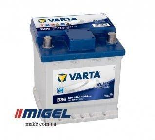 Аккумулятор Varta 44Ah R+ 420A Blue Dynamic