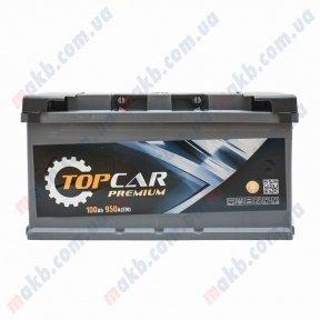 Аккумулятор TOP CAR Premium 100Ah R+ 950A