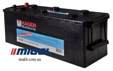 Аккумулятор Hagen 140Ah L+ 800A