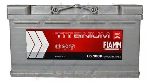 Аккумулятор Fiamm Titanium Pro 100Ah R+ 870A