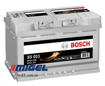Аккумулятор Bosch S5 AGM 80AH R+800A (EN)