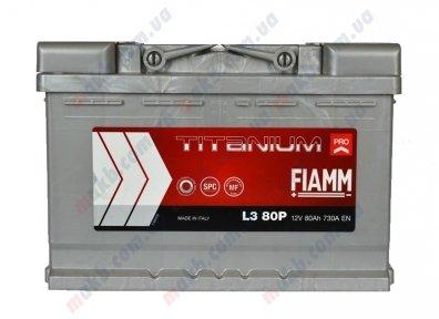Аккумулятор Fiamm Titanium Pro 80Ah R+ 730A