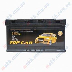 Аккумулятор TOP CAR 100Ah L+ 850A