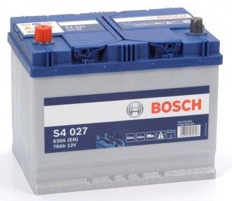 Аккумулятор Bosch S4 Silver 70AH JL+630A (EN)