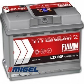 Аккумулятор Fiamm Titanium PRO 60Ah L+ 540A