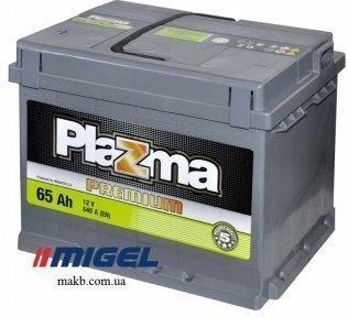 Аккумулятор Plazma Premium 65Ah L+ 640A