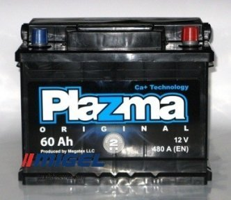 Аккумулятор Plazma Original 60AH R+ 480A
