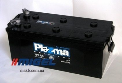Аккумулятор Plazma Original 190Ah L+ 950A
