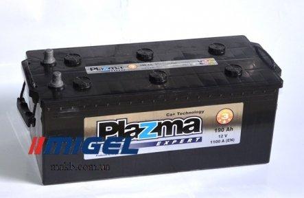 Аккумулятор Plazma Expert 190Ah L+ 1100A