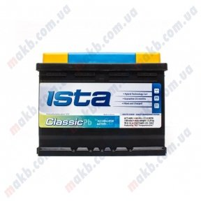 Аккумулятор Ista Classic 60Ah R+ 510A