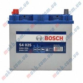 Аккумулятор Bosch S4 Silver 60AH JL+540A (EN)