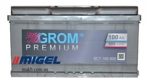 Аккумулятор Grom 100Ah R+ 900A