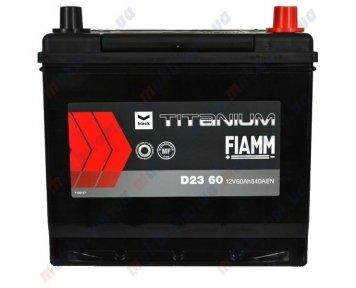 Аккумулятор Fiamm Titanium Black 60Ah JR+ 540A
