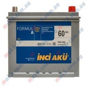 Аккумулятор INCI-AKU Formul A 60Ah JR+ 540A