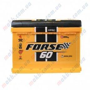 Аккумулятор Forse 60Ah L+ 600A (низкобазовый)