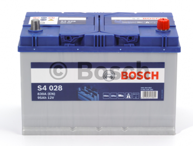 Аккумулятор Bosch S4 Silver 6CT 95AH JR+830A (EN)