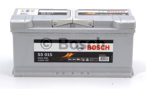 Аккумулятор Bosch S5 Silver Plus 110AH R+920A (EN)