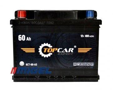 Аккумулятор TOP CAR Expert 60Ah L+ 480A
