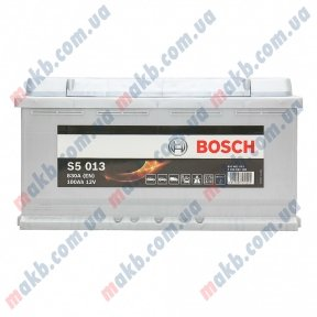 Аккумулятор Bosch S5 Silver Plus 100AH R+830A (EN)