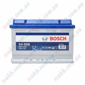 Аккумулятор Bosch S4 Silver 74AH L+680A (EN)